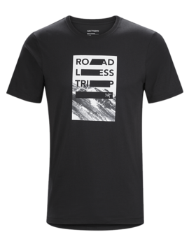 Roadless Trip T Shirt Men's by Arc'teryx