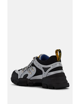 Men's Flashtrek Tech Fabric &Amp; Mesh Sneakers by Gucci