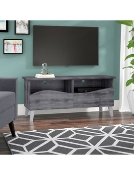 Goggins Tv Stand For T Vs Up To 55 Inches by Wrought Studio