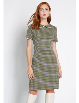 Truth Of The Matter A Line Dress by Modcloth