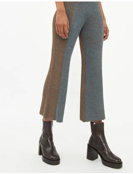 Knit Pleated Pant by Eckhaus Lattaeckhaus Latta
