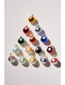 Pool Ball Christmas Ornament Set by Urban Outfitters
