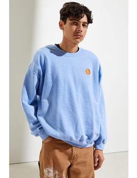 Waves Overdyed Crew Neck Sweatshirt by Urban Outfitters