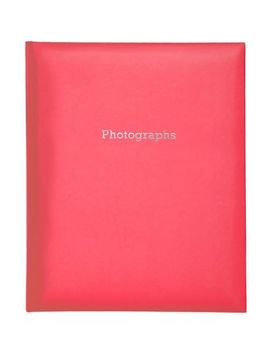 Red Self Adhesive Photo Album 6x4   200 Photos by Boots