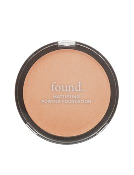 Found Mattifying Powder Foundation With Rosemary, 150 Golden Medium, 0.28 Fl Oz by Found