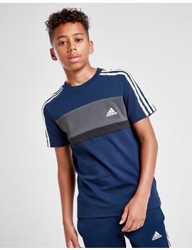 Adidas Sport Colour Block T Shirt Junior by Jd Sports