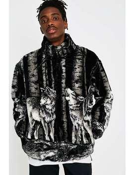 Black Mountain Apparel Timber Wolf Fleece Jacket by Black Mountain Apparel