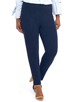 Plus Size Signature Pull On Skinny Pant In Ponte by The Limited