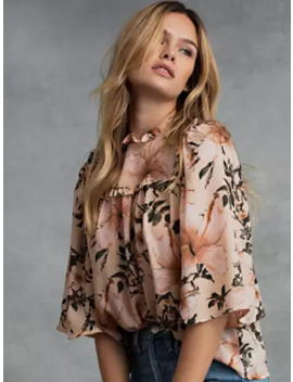 Nola Recycled Polyester Top by New York & Company