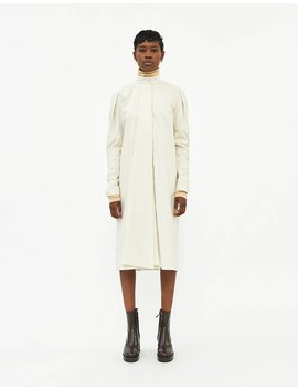 Tie Dress In Washed Cotton by Lemaire Lemaire