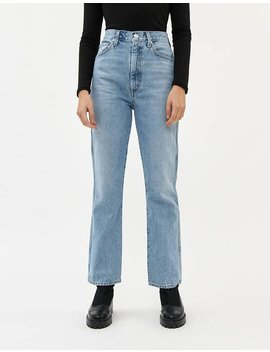 Pinch Waist High Rise Kick Jean In Subdued by Agolde Agolde