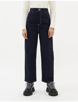 Armanda Pant In Rigid Dark Navy by Carhartt Wip Carhartt Wip