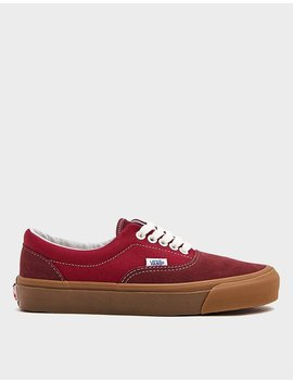 Og Era Lx Sneaker In Madder Brown/Jester Red by Vault By Vans Vault By Vans