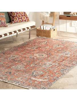 "Nu Loom Transitional Vintage Ruari Area Rug   5' 3"" X 7' 7"" by Nuloom"