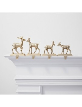 "<Span><Span>4pk Metal Deer Christmas Stocking Holder</Span><Br><Span>Brushed Brass   Wondershop</Span></Span><Span Style=""Position: Fixed; Visibility: Hidden; Top: 0px; Left: 0px;"">…</Span> by Wondershop…"