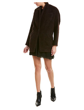 Iro Rafa Alpaca & Wool Blend Coat by Iro