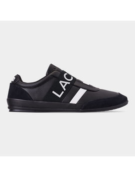 Men's Lacoste Misano Elastic Slip On Casual Shoes by Lacoste