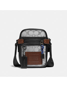 Dylan 10 In Reflective Signature Canvas by Coach