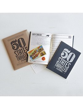 50 States Traveled Journal by Uncommon Goods