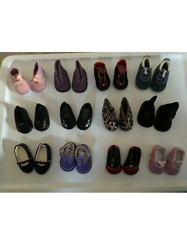 "**Sale On New** Doll Shoes For 16""   18\"" Dolls As American Girl Dolls by Unbranded"