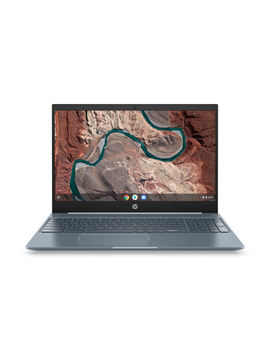 "Hp Chromebook 15.6"" Full Hd Touchscreen, Intel Core I3 8130 U, 4 Gb Sdram, 128 Gb E Mmc, Audio By B&O, Ceramic White/Cloud Blue, Backlit Keyboard, 15 De0518wm by Hp"