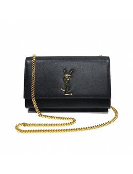 Kate Monogramme Leather Handbag by Saint Laurent