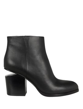 Gabi Cutout Heel Booties by Alexander Wang