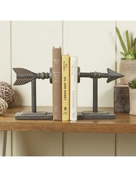 Louisa Straight Shot Bookends by Union Rustic
