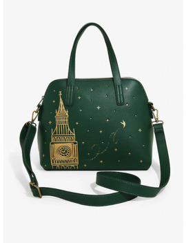 Loungefly Disney Peter Pan Big Ben Green Dome Satchel by Hot Topic