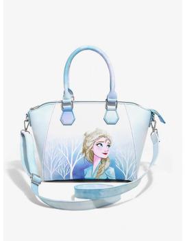 Loungefly Disney Frozen 2 Elsa Satchel Bag by Hot Topic