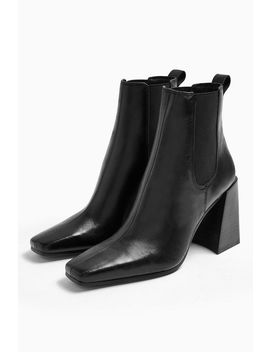 Harbour Black Chelsea Boots by Topshop