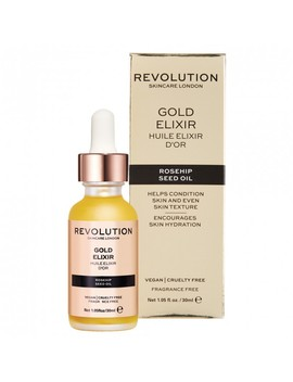 Gold Elixir Rosehip Seed Oil 30 M L by Revolution