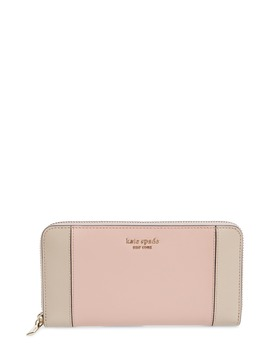 Spencer Zip Around Leather Continental Wallet by Kate Spade New York