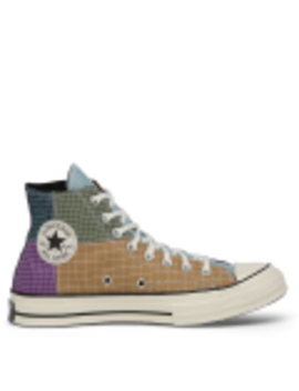 Chuck Taylor All Star 70 Quad Ripstop High Top Dewberry by Converse