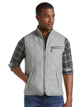 1905 Collection Tailored Fit Quilted Vest  by Jos. A. Bank