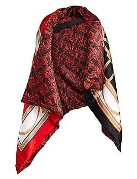 Wadded Oversized Reversible Cape by Burberry