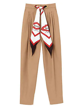 Scarf Trousers by Burberry