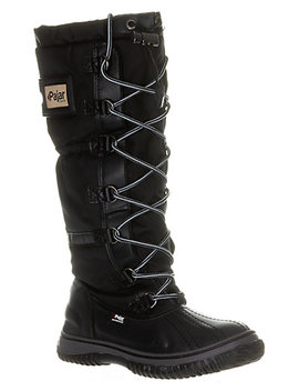 Pajar Sport Gia Waterproof Lace Up Leather Snow Boot by Pajar