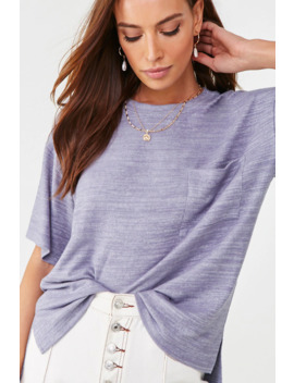Brushed Pocket Tee by Forever 21