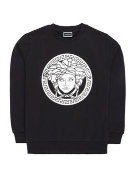 Sweater Met Logoprint by Versace