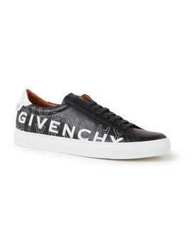 Urban Street Sneaker Van Kalfsleer Met Logoborduring by Givenchy
