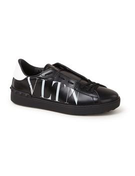 Vltn Open Sneaker Van Kalfsleer  by Valentino