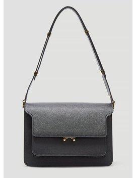 Medium Trunk Bag In Black by Marni