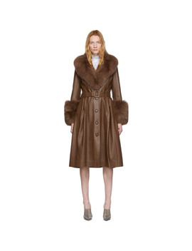 Manteau Brun Foxy by Saks Potts