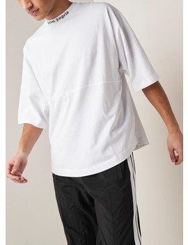 Loose Fit T Shirt Met Logoprint by Palm Angels