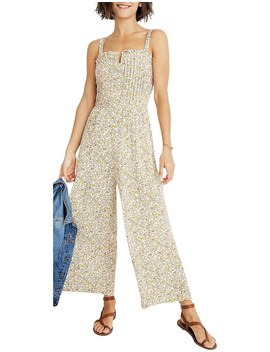 Pintuck Ruffle Jumpsuit by Madewell