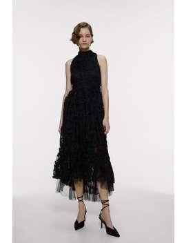 Sukienka Z Tkaniny Strukturalnej Z Limitowanej Edycji by Zara