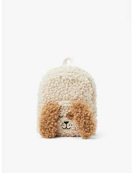 Ruffled Puppy Backpack by Zara