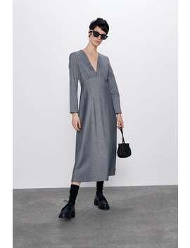 Robe Mi Longue Mi Longues Robes by Zara