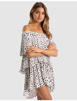 Allira Off Shoulder Dress by Lost In Lunar